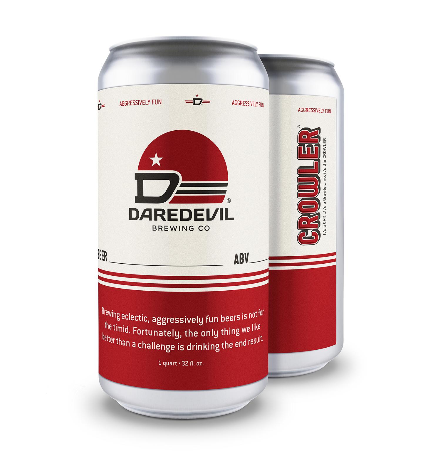Daredevil Brewing Co | Crowlers